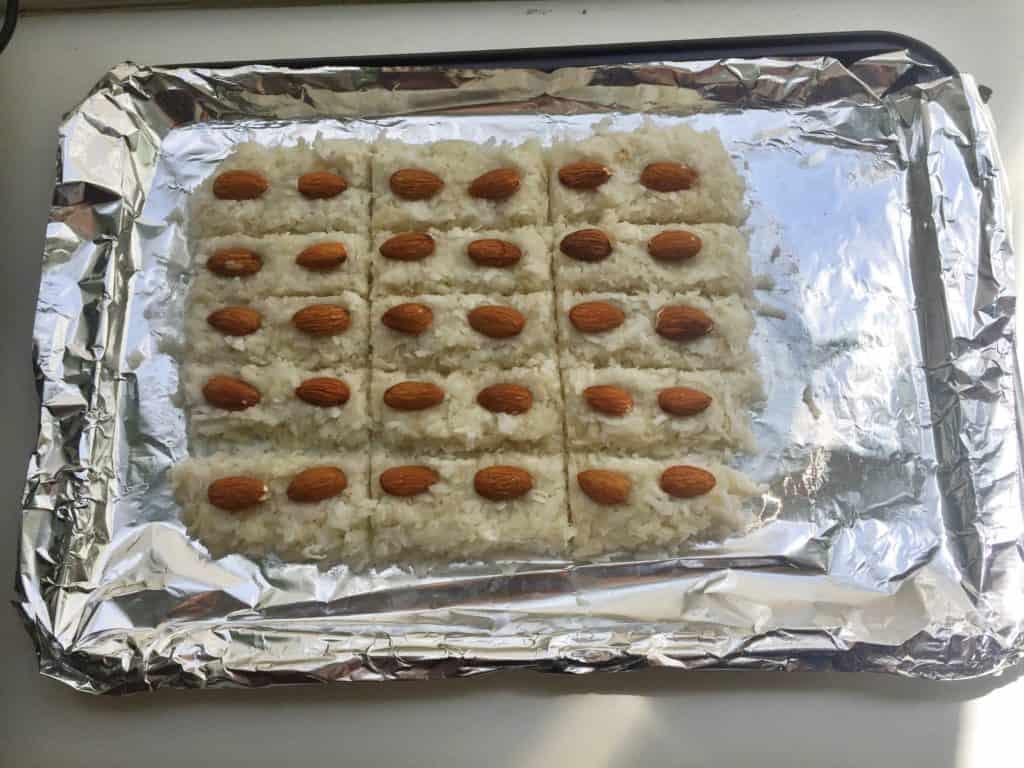 no bake almond joys