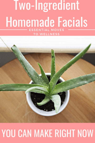 If you want to save money on skincare, try these homemade facials! They're easy and chemical-free, and you can make them right now! #naturalskincare #facials #naturalliving #diybeauty