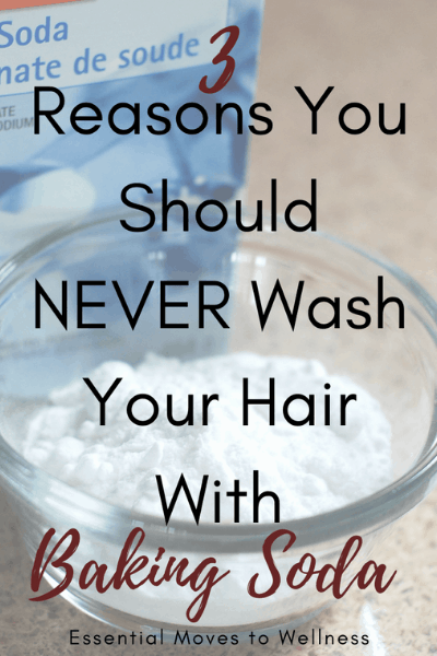 Baking soda shampoo may be all the rage, but did you know that you should not wash your hair with baking soda? #bakingsoda #nopoo #naturalliving #shampoo