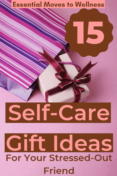 Help your stressed-out friend relax and unwind with these self-care gift basket ideas for stress management and mental rejuvenation. #selfcare #christmasgiftideas #healthyliving #mentalhealth
