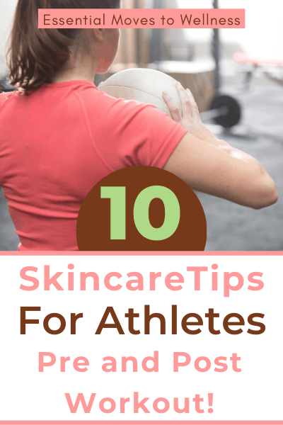 Breakouts from your active lifestyle need a few tweaks to your skincare routine. These natural skin care tips for athletes will heal your skin fast! #naturalskincare #naturalliving #nontoxicbeauty #diyskincare