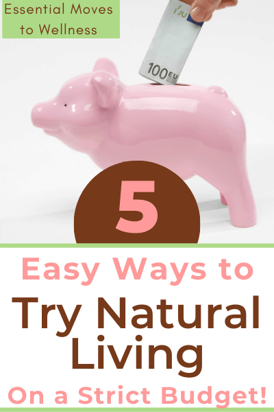 It may seem like natural living is incredibly expensive, but you can do it right and still save money! See how I do natural living on a budget. #naturalliving #budgetfriendly #healthyeating #cheapeats