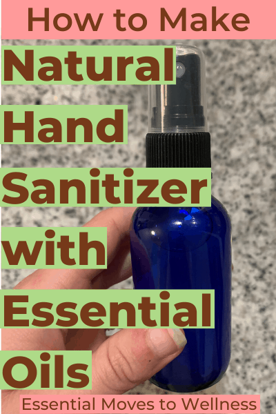 It's important to always have sanitizer on hand. But most hand sanitizers are full of toxic chemicals. Here's how to make hand sanitizer spray at home! It's even more effective than store-bought! #naturalliving #naturaldiy #naturalhandsanitizer #diyhandsanitizer
