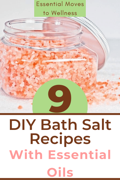 These DIY bath salts for relaxation are great for gifts, a fun craft, or to simply help you unwind after a long day! Only made with natural ingredients.  #diynaturalproducts #diybathsalts #diybathsoak #essentialoils