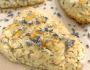 gluten-free lavender scones